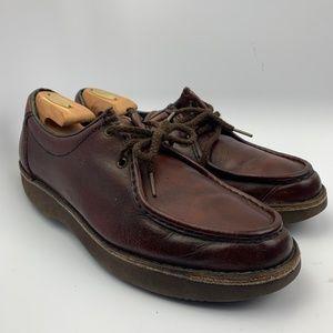Rockports 12 M Men  Brown Shoes  Casual Moc Toe Le